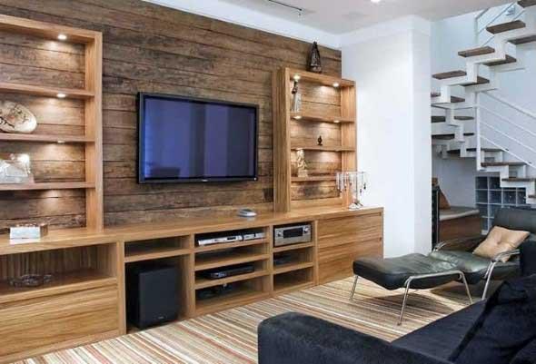Painel de TV para sala de estar 017
