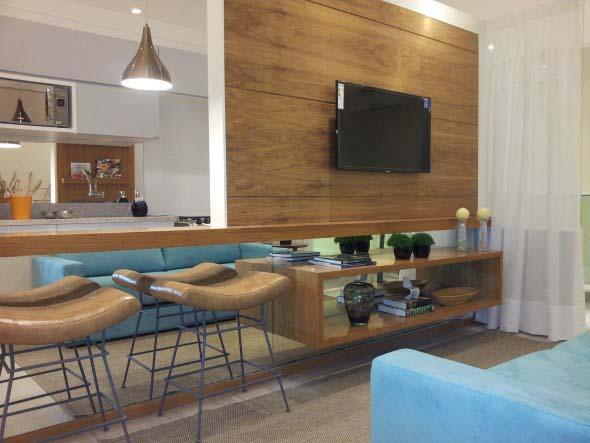Painel de TV para sala de estar 018