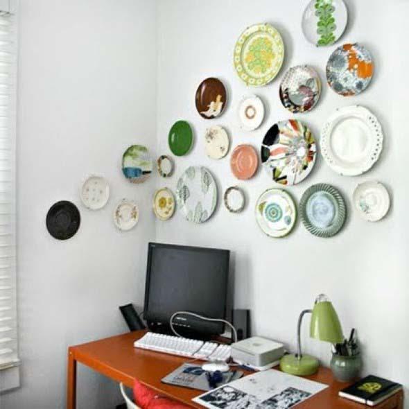 Pratos na parede decoração 010