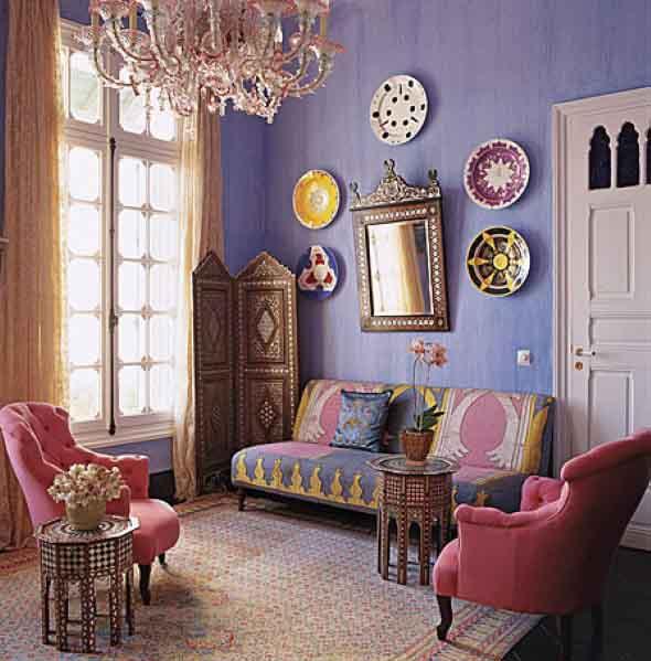 Pratos na parede decoração 016