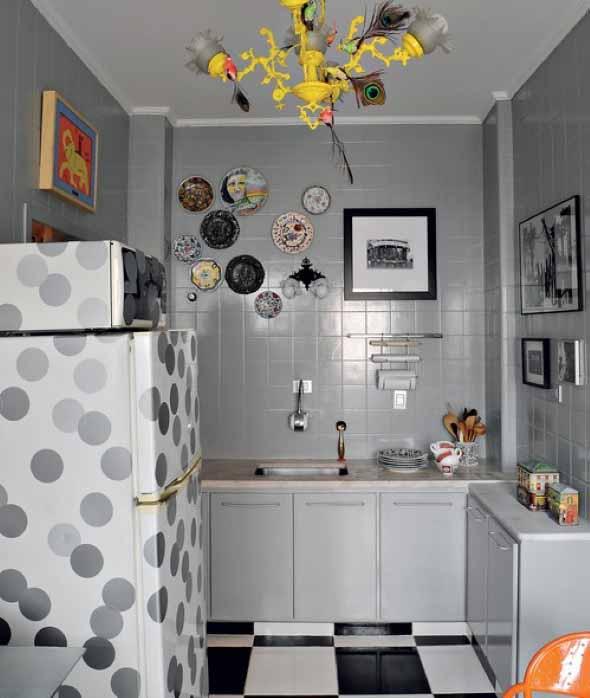 Pratos na parede decoração 022