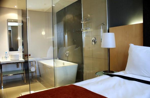 Quartos integrados com banheiro 017