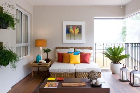 Almofadas coloridas na decoração 013