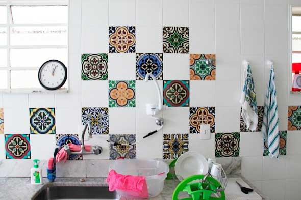 Decore sua cozinha com adesivos 002