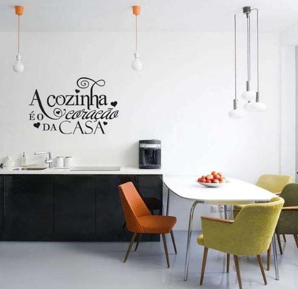 Decore sua cozinha com adesivos 006