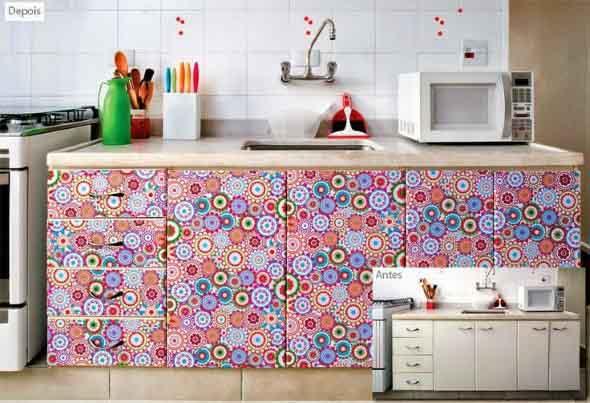 Decore sua cozinha com adesivos 007