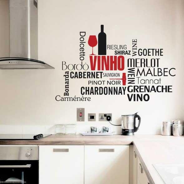 Decore sua cozinha com adesivos 008