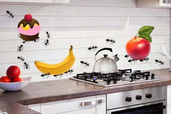 Decore sua cozinha com adesivos 013