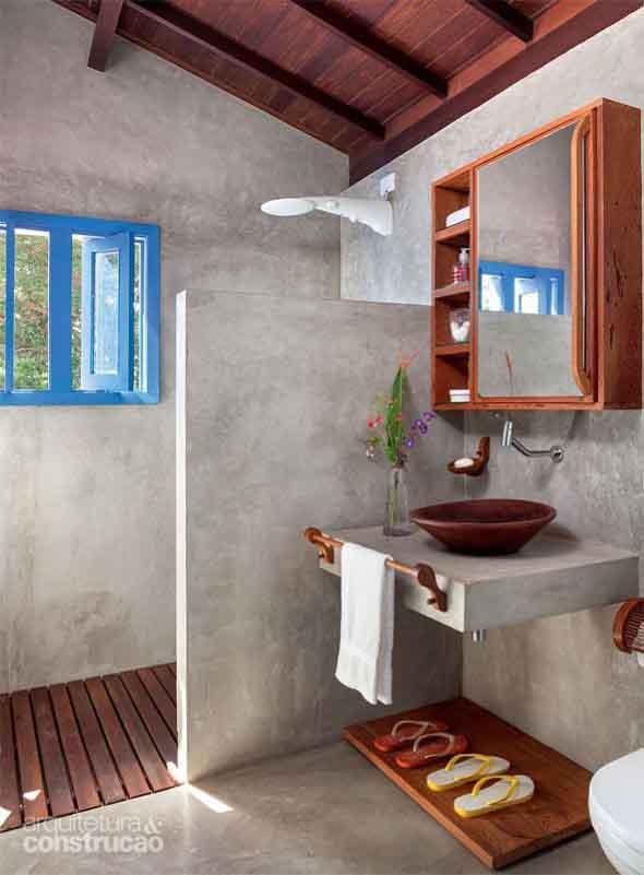 Janelas coloridas dentro de casa na decoração 021