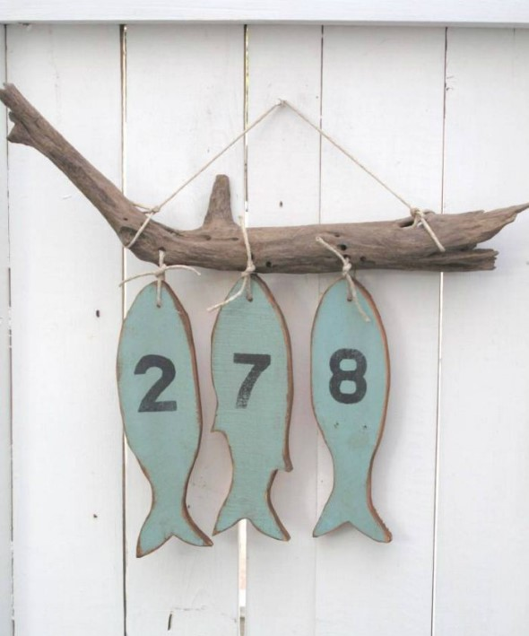 Números de casa DIY 004
