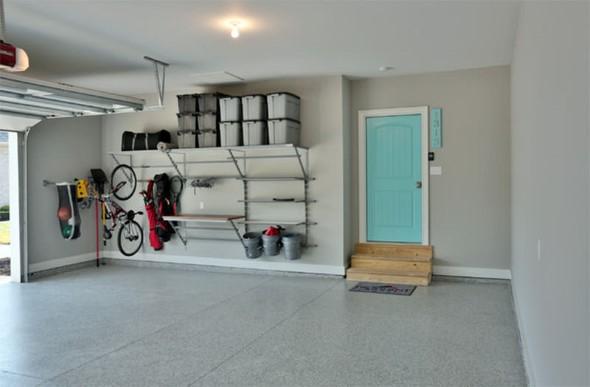 Prateleiras na garagem 010
