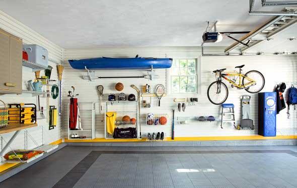 Prateleiras na garagem 018
