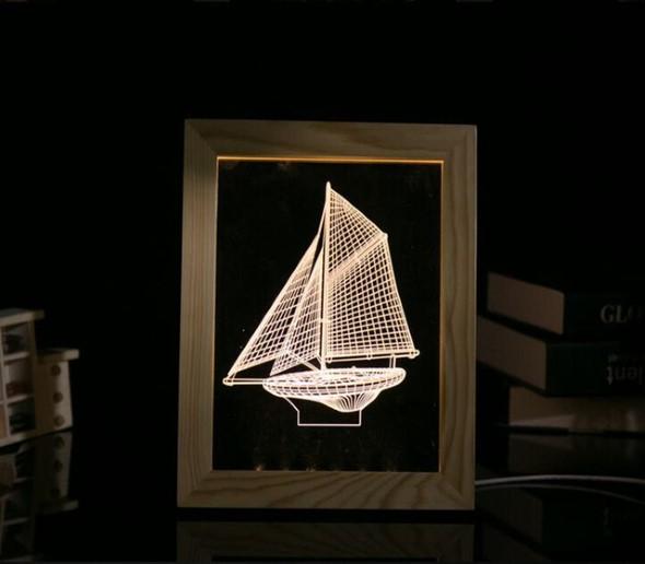 Quadros de parede em 3D criativos 007