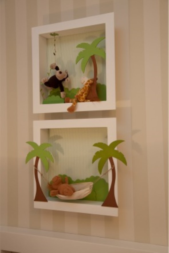 Quadros de parede em 3D criativos 013
