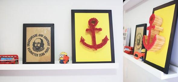 Quadros de parede em 3D criativos 015