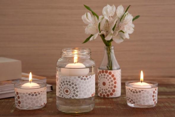 ideias decorativas com potes de vidro 002