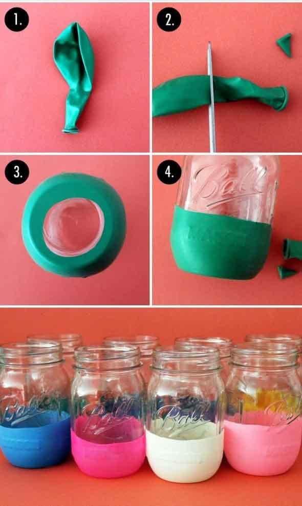 ideias decorativas com potes de vidro 006