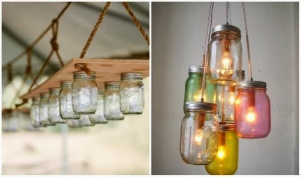 ideias decorativas com potes de vidro 008