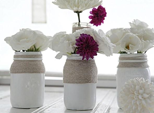ideias decorativas com potes de vidro 018