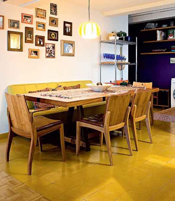Chão colorido na decoração 004