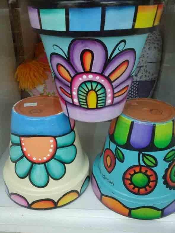 DIY - Como pintar vasos de cerâmica 011
