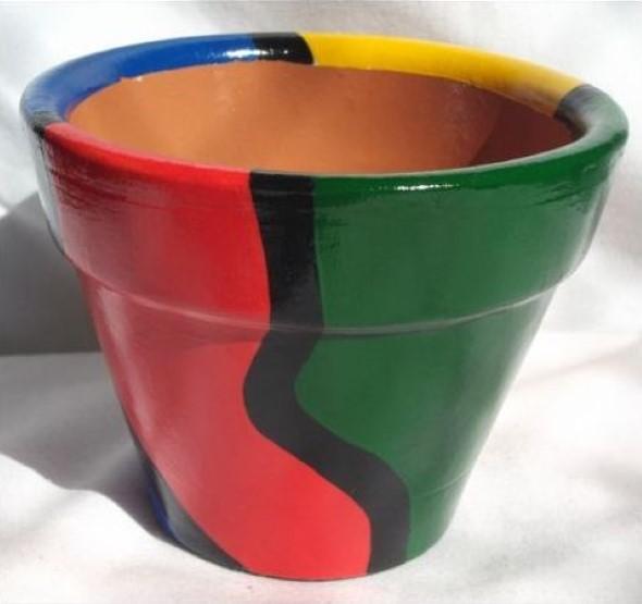 DIY - Como pintar vasos de cerâmica 013