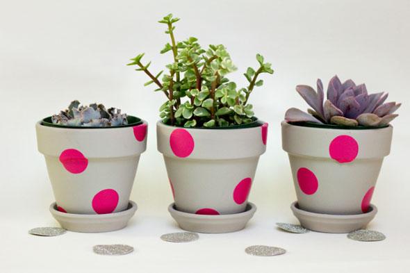 DIY - Como pintar vasos de cerâmica 018