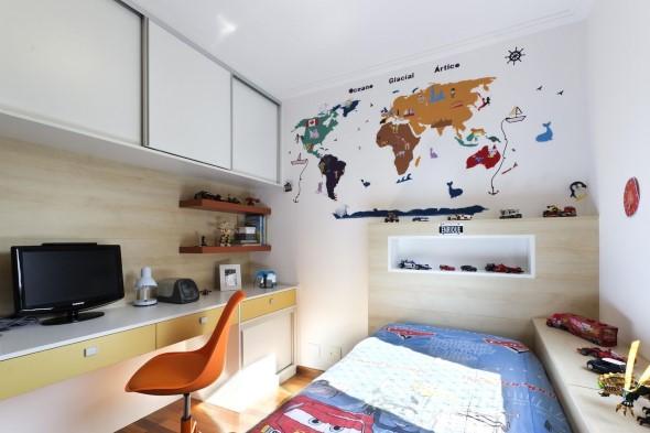 Decorar o quarto com mapa mundi 021