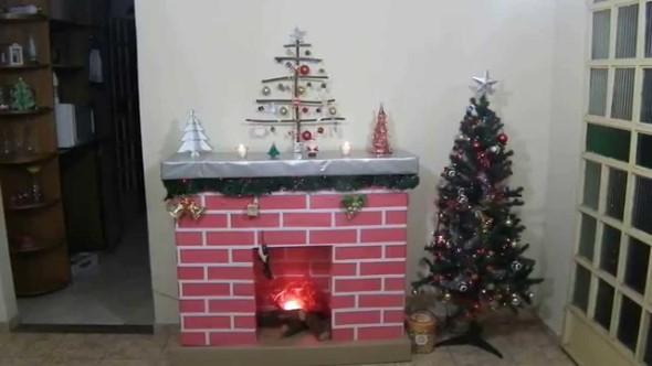 Dicas para enfeitar a lareira para o Natal 005