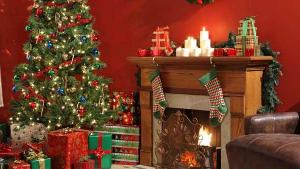 Dicas para enfeitar a lareira para o Natal 008