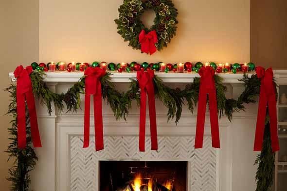 Dicas para enfeitar a lareira para o Natal 011
