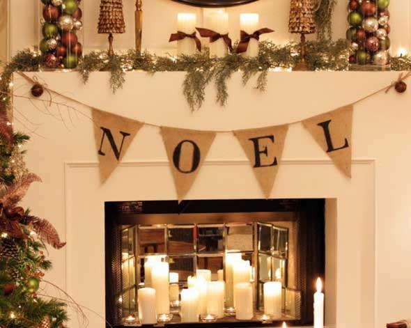 Dicas para enfeitar a lareira para o Natal 014