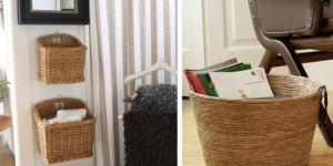 Ideias para usar cestos na decoração 005
