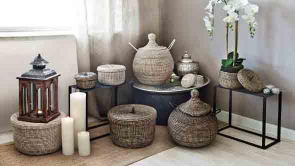 Ideias para usar cestos na decoração 011