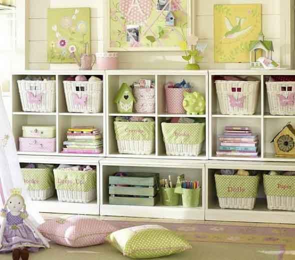 Ideias para usar cestos na decoração 015