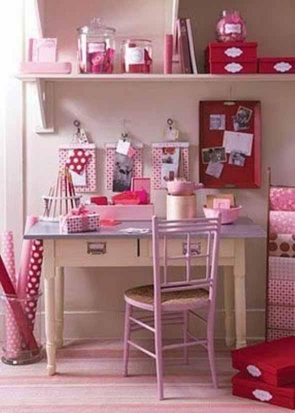 Inspire-se decorando a casa com tons de rosa 001