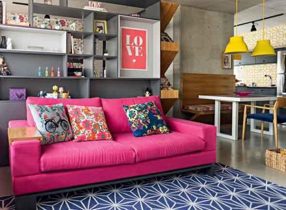 Inspire-se decorando a casa com tons de rosa 007