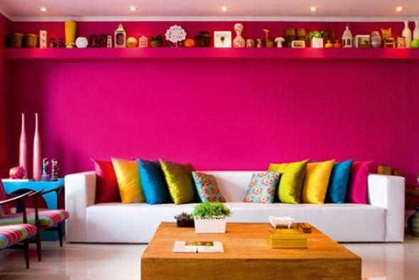 Inspire-se decorando a casa com tons de rosa 014
