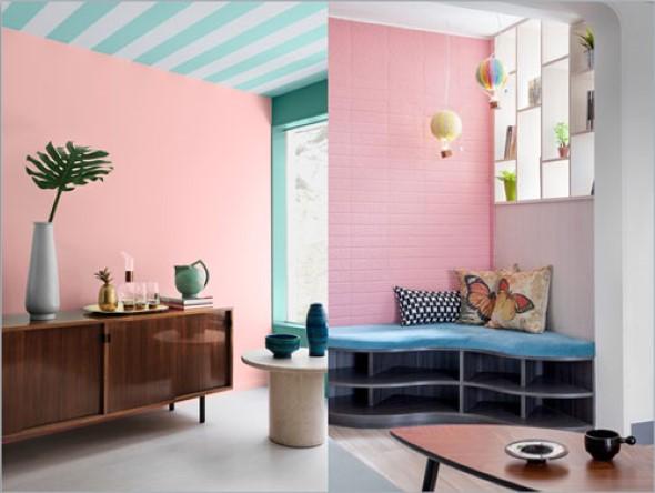 Inspire-se decorando a casa com tons de rosa 018
