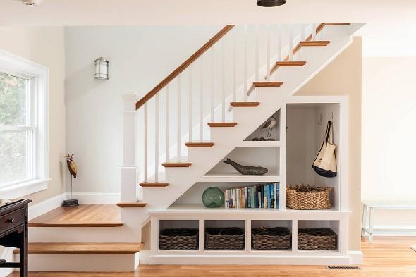 Modelos de escadas casas pequenas 003