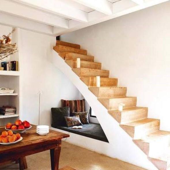 Modelos de escadas casas pequenas 014