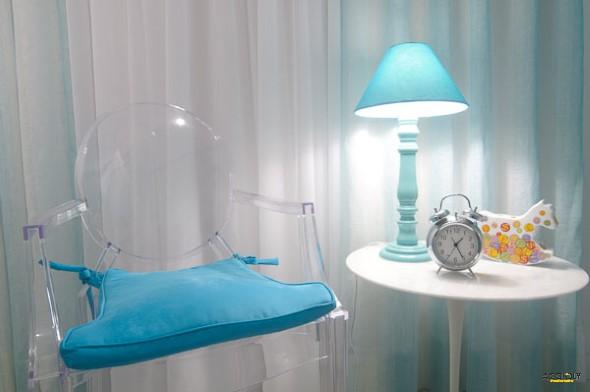 Modernas cadeiras de acrílico 012