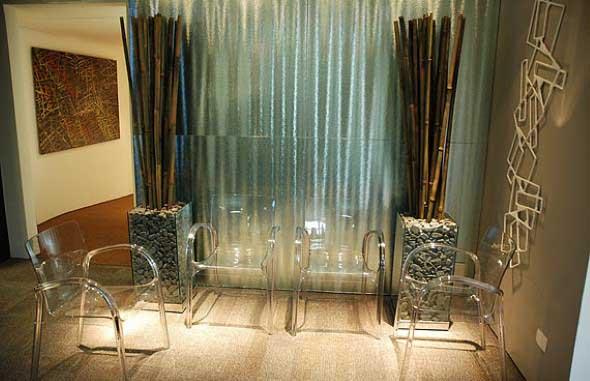 Modernas cadeiras de acrílico 017