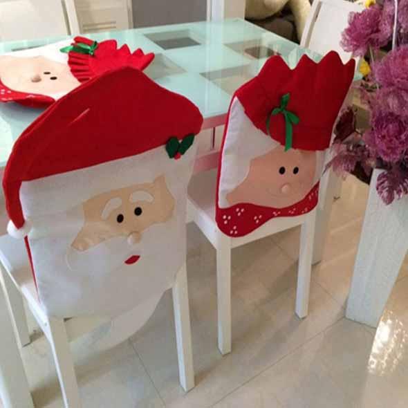 Papai Noel na decoração de natal 003