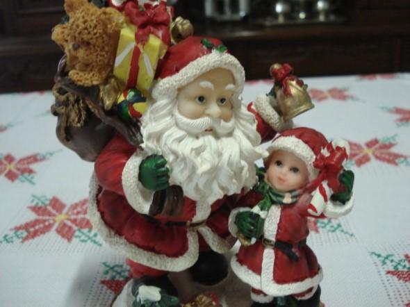Papai Noel na decoração de natal 006