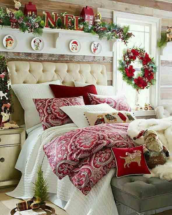Papai Noel na decoração de natal 008