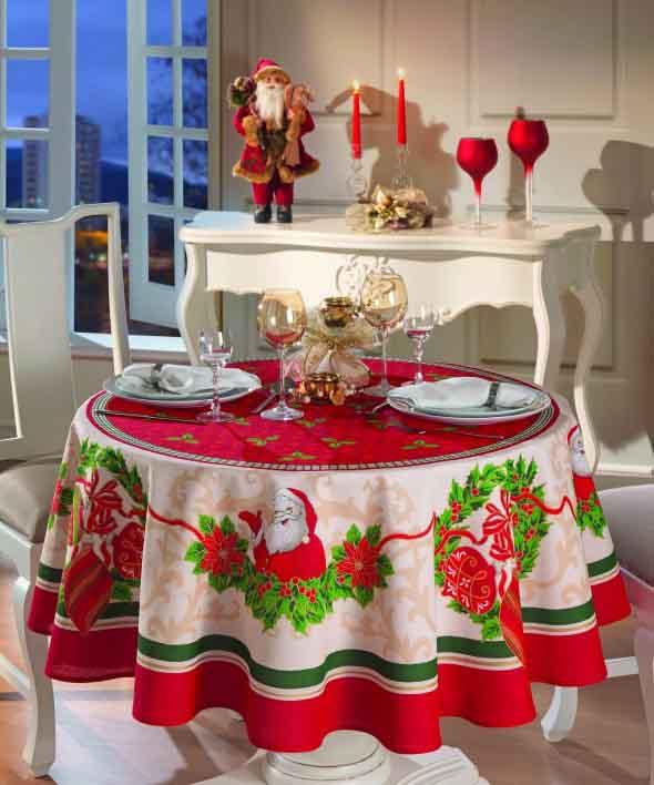 Papai Noel na decoração de natal 010