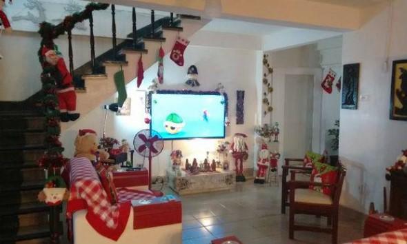 Papai Noel na decoração de natal 011