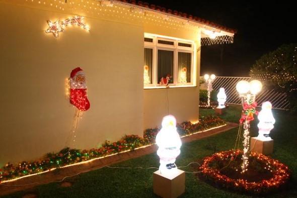 Papai Noel na decoração de natal 013