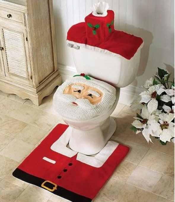 Papai Noel na decoração de natal 016